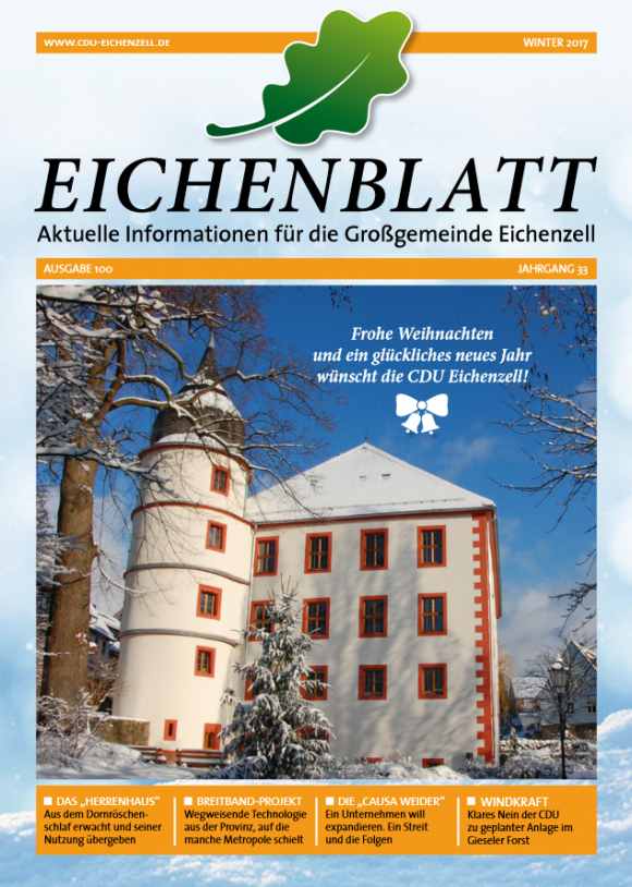EICHENBLATT Winter 2017
