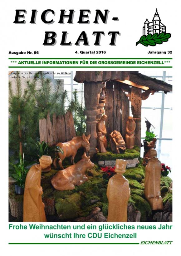 Eichenblatt 4. Quartal 2016