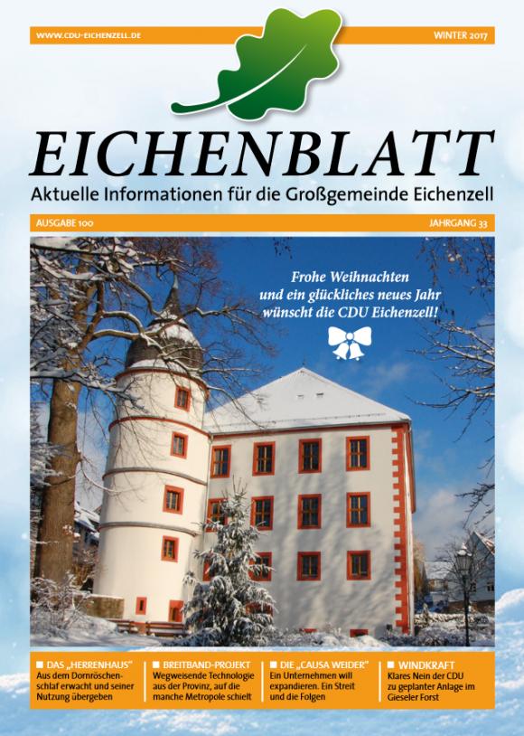 EICHENBLATT Winter 2017